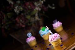 Gâteau de cuvette Photographie stock