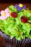 Gâteau de cuvette Photos stock