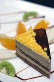 Gâteau de délicatesse Photographie stock libre de droits