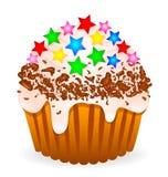 Gâteau de Delikate illustration libre de droits