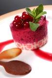 Gâteau de dessert Images libres de droits