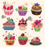 Gâteau de dessin animé Photo stock