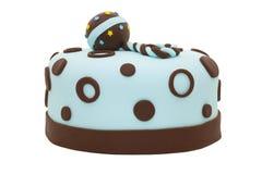 Gâteau de douche de chéri Photographie stock libre de droits
