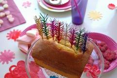Gâteau de fête Image libre de droits