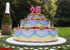 Gâteau de fête Images libres de droits