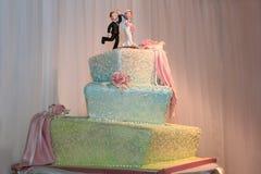 Gâteau de fantaisie Photos libres de droits