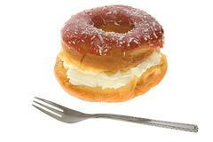 Gâteau de feuilleté Image libre de droits