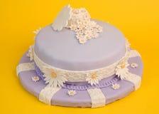 Gâteau de fleur de source Photographie stock