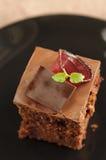 Gâteau de fond de betterave rouge images libres de droits