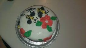 Gâteau de fondant Images stock