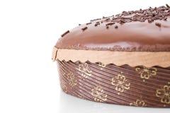 Gâteau de fondant de chocolat Photo libre de droits