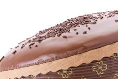 Gâteau de fondant de chocolat Photographie stock