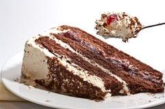 Gâteau de forêt noire Photos libres de droits