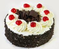 Gâteau de forêt noire Photographie stock