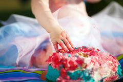 Gâteau de fracas Images stock