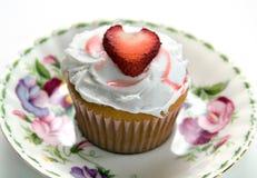 Gâteau de fraise Image stock