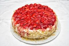 Gâteau de fraise Image libre de droits