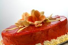 Gâteau de fraise Images stock