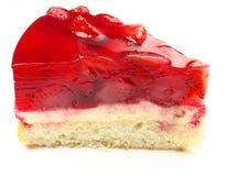 Gâteau de fraises Image libre de droits