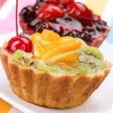 Gâteau de fruit image libre de droits