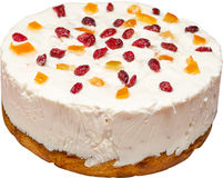 Gâteau de fruit Photos stock