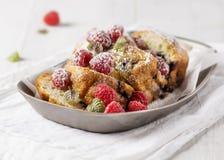 Gâteau de fruit Photo stock
