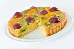 Gâteau de fruit Images libres de droits