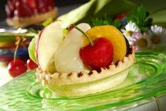 Gâteau de fruit Photographie stock libre de droits