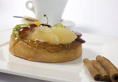 Gâteau de fruit Image stock