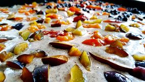 Gâteau de fruit Photo stock