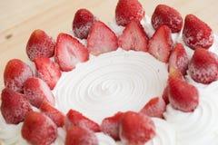 Gâteau de glace Photographie stock