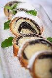 Gâteau de graine d'oeillette image libre de droits