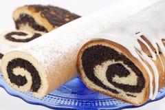 Gâteau de graine d'oeillette Photographie stock