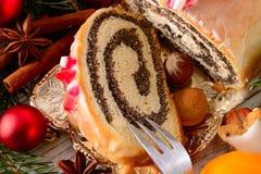 Gâteau de graine d'oeillette Photographie stock libre de droits