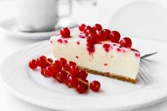 Gâteau de groseille rouge Image stock