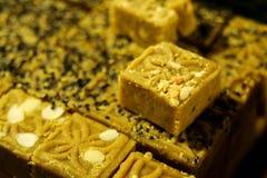 Gâteau de haricot vert Image stock