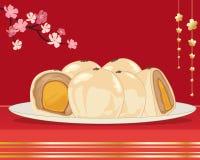 Gâteau de jaune d'oeuf Images libres de droits