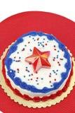 Gâteau de Jour de la Déclaration d'Indépendance Images libres de droits