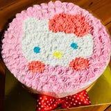 Gâteau de Kitty images stock