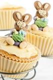 Gâteau de lapin de Pâques Photographie stock