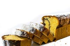 Gâteau de livre image libre de droits
