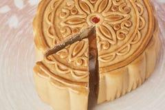 Gâteau de lune Photographie stock