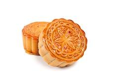 Gâteau de lune chinois Images libres de droits