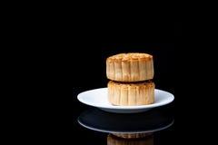 Gâteau de lune pour le Mi-automne fastival Photographie stock