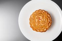 Gâteau de lune pour le Mi-automne fastival image libre de droits