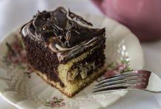 Gâteau de marbre photographie stock