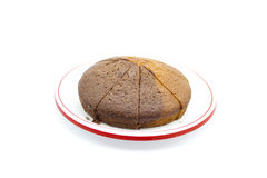 Gâteau de marbre cuit au four frais Image stock
