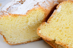 Gâteau de marguerite Image libre de droits