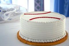 Gâteau de mariés Photos stock