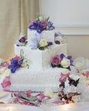 Gâteau de mariage Photos libres de droits